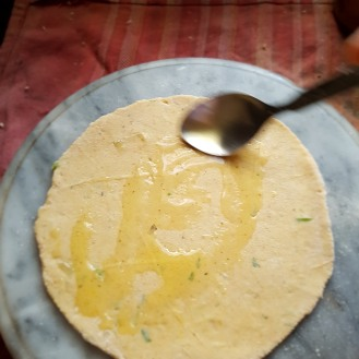 Roll a chapati